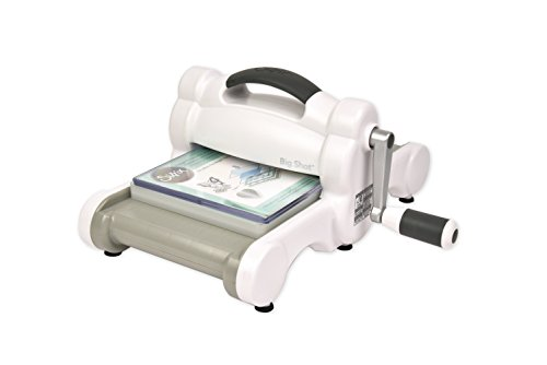 """Compatible with the entire Sizzix product library (with the exception of Bigz Plus and Bigz Pro dies), The Big Shot Machine measures approximately 14 1/4"""" x 12 3/8"""" x 6 5/8"""" and features a three-year limited warranty., Cuts and embosses many differen..."""