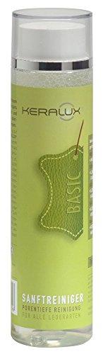 KERALUX Lederpflege, Sanftreiniger 250 ml. Reinigt leichte Alltagsverschmutzungen, auch für empfindliche Lederarten