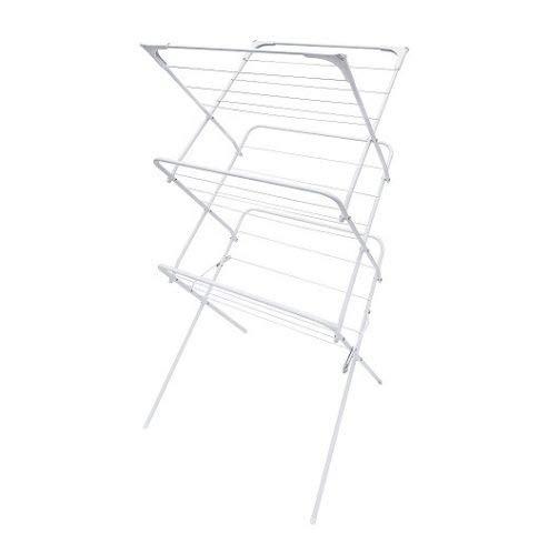 MAXELLPOWER étendoir de vêtements Pliable Vertical 2et 3hauteurs Niveaux Faire sécher du Linge Intérieur 2modèles 3 NIVELES