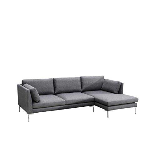 Mirjan24  Ecksofa Ocean II Sofagarnitur, Couchgarnitur Lounge Sofa Couch inkl. Kissen-Set, Eckcouch...