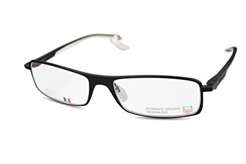 Preisvergleich Produktbild TAG HEUER Brille TH0801 col.011 Vollrand / Schwarz,  Weiss / 58[]17