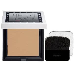 BENEFIT hello flawless! beige - all the world's my stage 7.0g Net wt. 0.25 oz custom powder cover-up