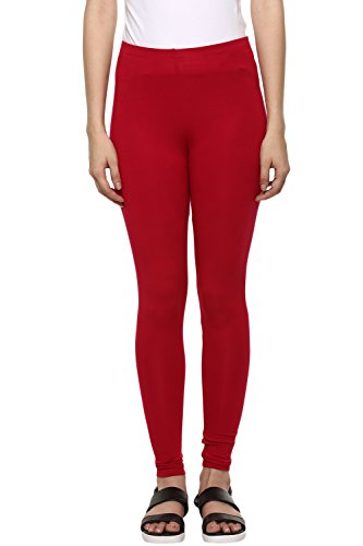Ajile by Pantaloons Women Viscose Lycra Legging (205000005600774_BERRY_Small)