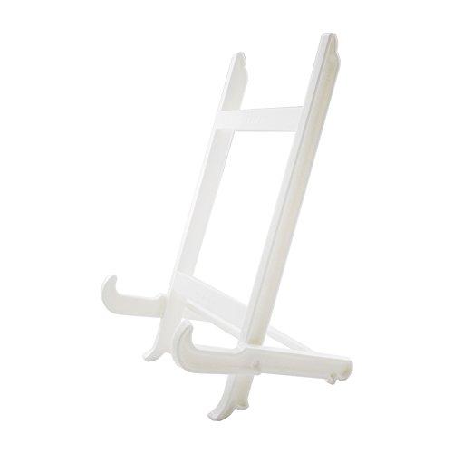 Hetoco Großer Teller Ständer Halter Bilderrahmen Ständer Staffelei Display Ständer - weiß