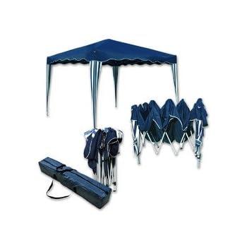 Klapp Pavillon.Amazon De Jawoll Falt Pavillon Easy Up 3x3m Blau Weiß