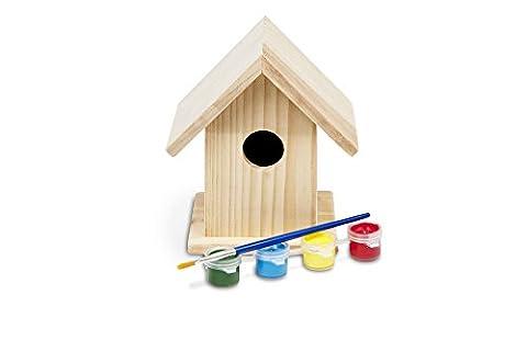 BuitenSpeel Wooden Build Your Own Birdhouse