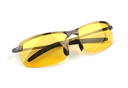 Preisvergleich Produktbild nalmatoionme Herren Outdoor Blendfreie fahren Nachtsicht Brillen Polarisierte Sonnenbrille Sonnenbrille