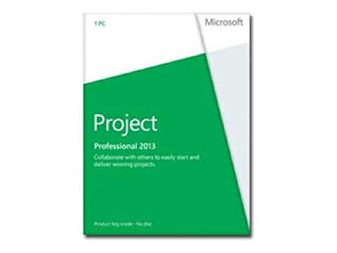 Microsoft Project Professional 2013 (DVD) Software (Project Microsoft Office)