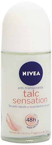 Nivea Deodorante, Talc Sensation Roll-On, 50 ml