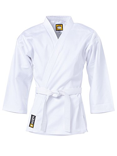 "KWON Karate Jacke ""Traditional"", 8Oz, Weiß Kwon 110 cm"