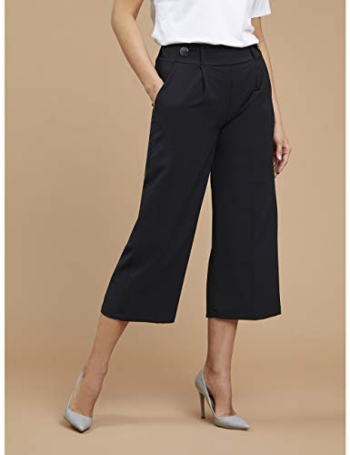 vasta selezione di 26475 3049b Fiorella Rubino : Pantaloni Cropped con Bottoni (Italian Plus Size)