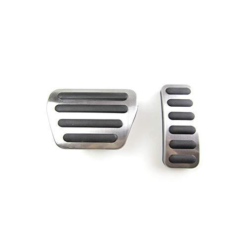 Edelstahl Gas Kraftstoff Bremspedal Pad Abdeckung für Land Rover Range Rover Sport 2004-2017 Zubehör Auto Styling (Rover Zubehör-2004 Range)