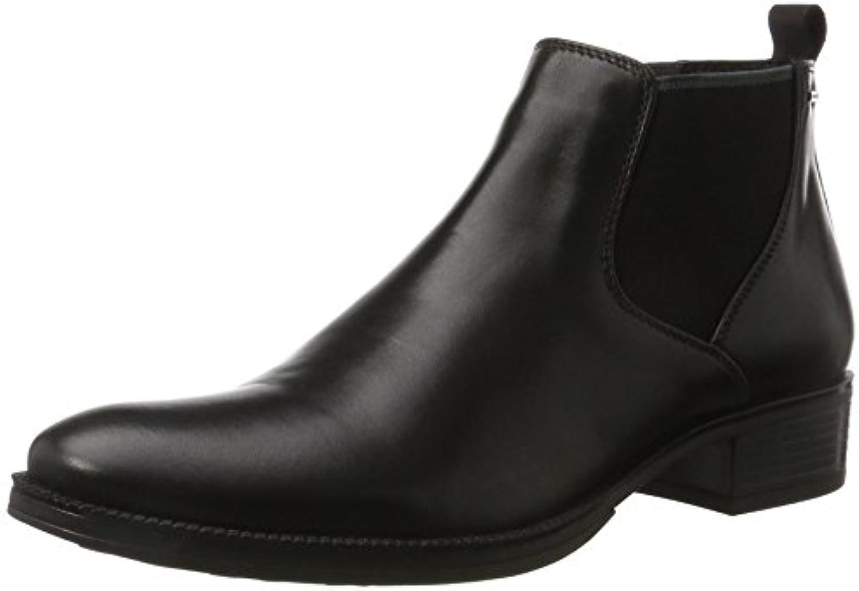 Geox D Mendi NP ABX A Damen Chelsea Boots Schwarz (Black) 41 EU