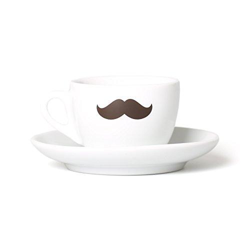 Coffee Circle Kaffeetassen mit Schnurrbart