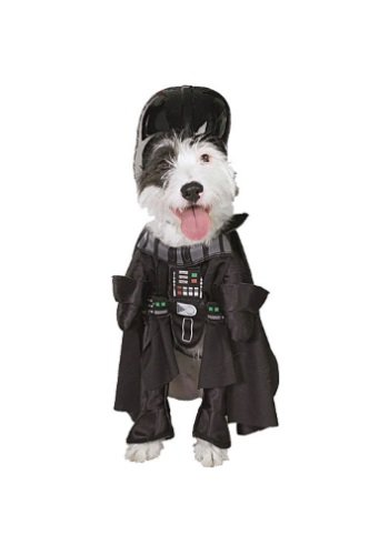 Darth Vader Dog Fancy dress costume Large (Für Erwachsene Darth Vader Dress Kostüm)
