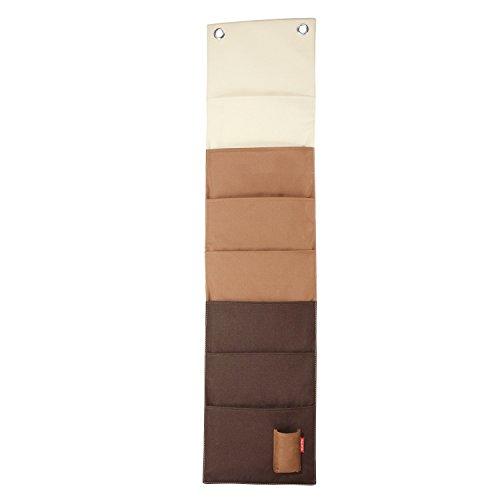 Reisenthel Wand-Magazinhalter, - Sand - braun, L 27cm, B 3cm, H 114cm