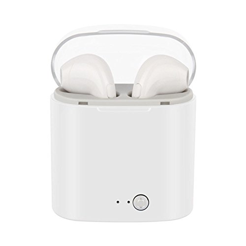 Winwintom Auriculares In-Ear con Microfono,Auriculares Bluetooth Inalambricos,De Volumen para iPhone, Samsung Galaxy S9/8/7/6, Huawei, Xiaomi, Pc, iPad, iPod Mp3/Mp4