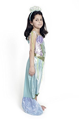 jungfrau Nixe 98 bis 152 Atlantis Kinderkostüm (140/152) (Atlantis Kostüm)