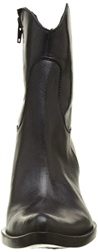 Donna Piu 50199 Candida, Stivali da Cowboy Donna Noir (Talco Nero)