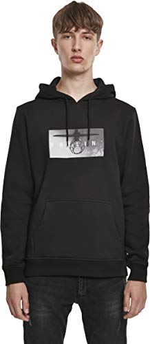 Mister Tee Ballin Sweatshirt Kapuzenpullover Hoodie Sweater | Langarm Rundhals Aufdruck | Damen Herren | Gr. M