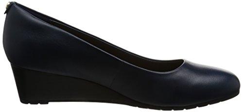 Clarks Vendra Bloom - Zeppe da donna Blu (Navy Leather)