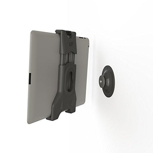 EXELIUM XFLAT® UP160 - Universelle Tablet Aufnahme inkl. Wandaufnahme - Halter System (schwarz) für ALLE TABLETS von 7