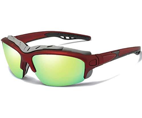 Sport-Radsport-Sonnenbrille Polarisiert, Herren-Und Damen Baseball Laufen Radfahren Angeln Fahren Golf Softball Wander Sonnenbrille