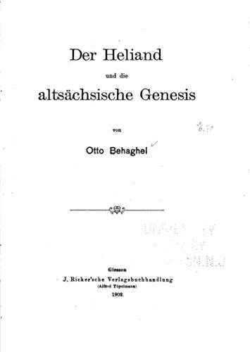 Der Heliand und die altsächsische Genesis