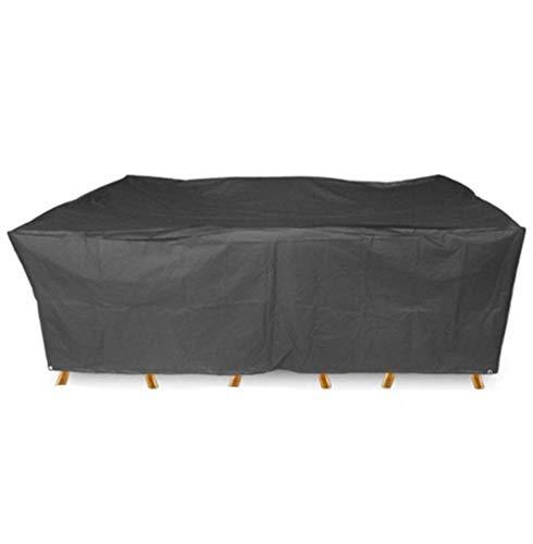 Liul Wasserdicht Plane Gartenmöbel Abdeckung Abdeckplane Schutzhülle Atmungsaktiver Schutz UV-beständig Wasserdicht Staubdicht,Black-170x94x70CM