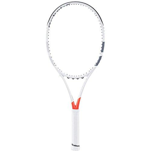 Babolat Pure Strike Team Unstrung Raquetas de Tenis, Hombre, Blanco/Rojo, 2