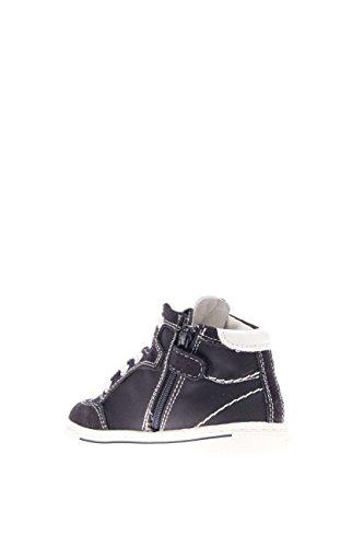 Nero Giardini Junior Kinder Sneaker High p623790m-200Sneaker High Wildleder Stoff Blau