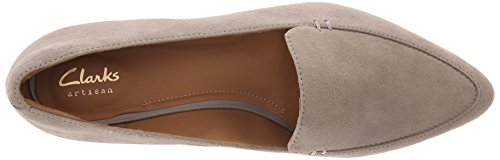 Clarks Corabeth Erin Flat Light Grey Suede