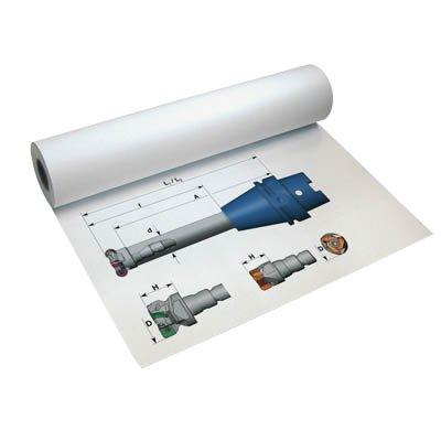 InkJet-Plotterpapier auf Rollen Premium InkJet matt, 90 g/qm, 91,4 cm breit, 45,0 m lang