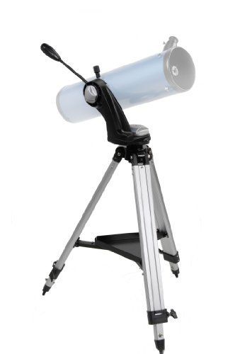 Best Price Skywatcher AZ4-1 Alt-Azimuth Mount with Aluminium Tripod and Spotting Scope Holder Silver on Amazon