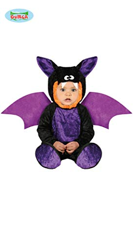 Baby Fledermaus Kostüm Halloween Babykostüm Halloweenkostüm Kinder Gr. 74-92, Größe:86/92 (Kostüme Monate Alt Halloween 6-9)