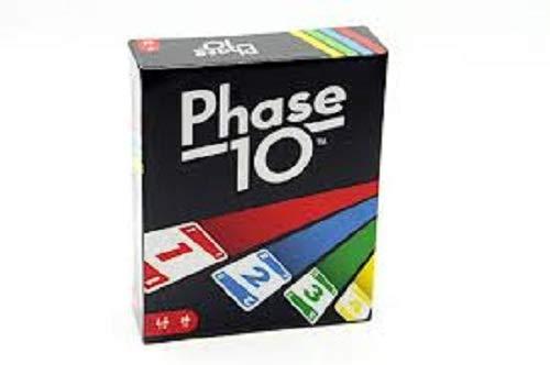 Mattel Games FPW38 - Phase 10 Kartenspiel,