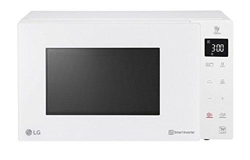 LG mh6535gph Horno a microondas combinado Smart Inverter con grill Capacidad 25L potencia 2050Color Blanco