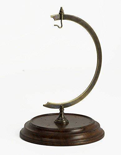 linoows Taschenuhrenständer, Ständer für Miniaturglobus Präsentationshilfe Bronze