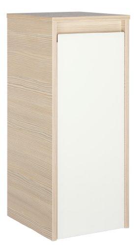 FACKELMANN Unterschrank Pinie/Weiß 34 x 30 x 73 cm