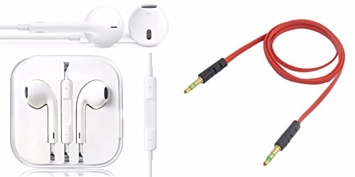 Lenovo ZUK Z1 Compatible Ceritfied Stereo Headset Earpods with Mic and Volume Controller(Assorted Color) with FREE GIFT