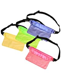 SLB Works Brand New Waterproof Dry Pouch Shoulder Waist Belt Bag Case Pack Fishing Beach Pouch Blue