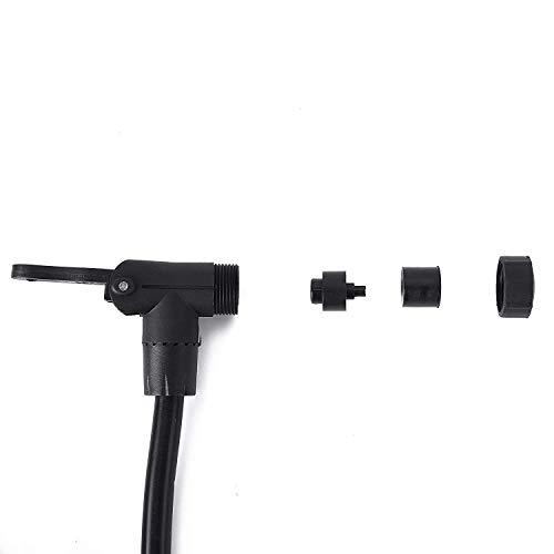 EVOline Flip Top Push S 3/X Schuko Schulte 1/pezzi nero 1593/7010/1800