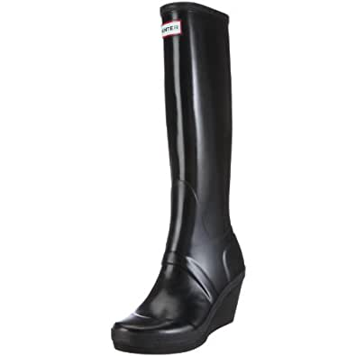 Hunter Women's Melrose Tall Black Wellington Boot W23795 3 UK