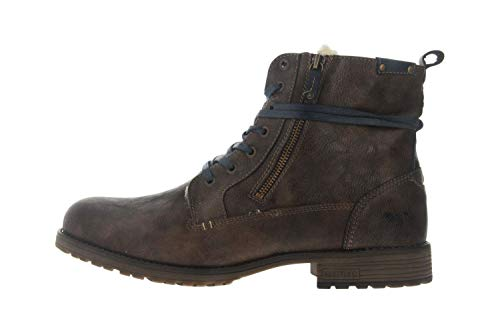 Mustang Shoes Boots in Übergrößen Mittelbraun 4119-602-360 große Herrenschuhe, Größe:50