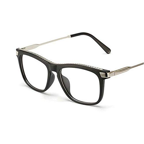 GBST New Triangular Sunglasses Fashion Ladies Sunglasses Men's Personal Glasses,Matte Black