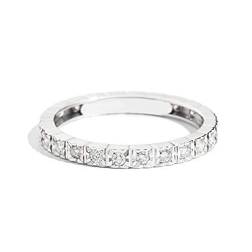 Zoom IMG-2 recarlo anello girodito oro bianco