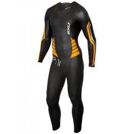 2XU P: 1 Propel Triathlon Neoprenanzug Black Flame Orange - Leichter Stretch