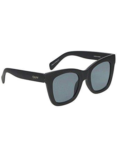 Quay Eyewear Unisex-Erwachsene Sonnenbrille After Hours, Schwarz (Black/Smoke), 145