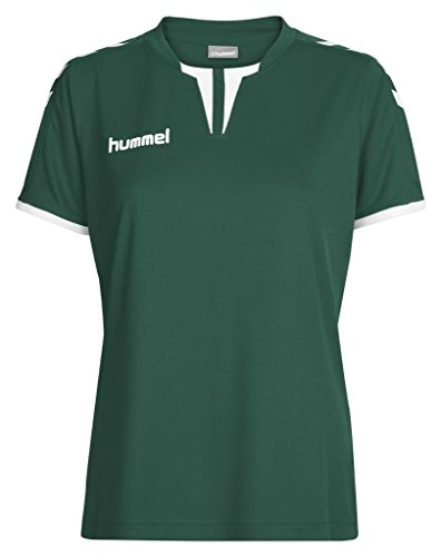 Hummel Damen Trikot Core Short Sleeve Jersey, Evergreen, S, 03-649-6140