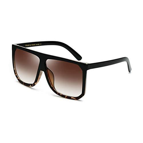 WANG LIQING Übergroße Sonnenbrille Super Flat Top-Sonnenbrille Big Large Für Sport- und Außentüraktivitäten. Für Männer und Frauen (Farbe : B)
